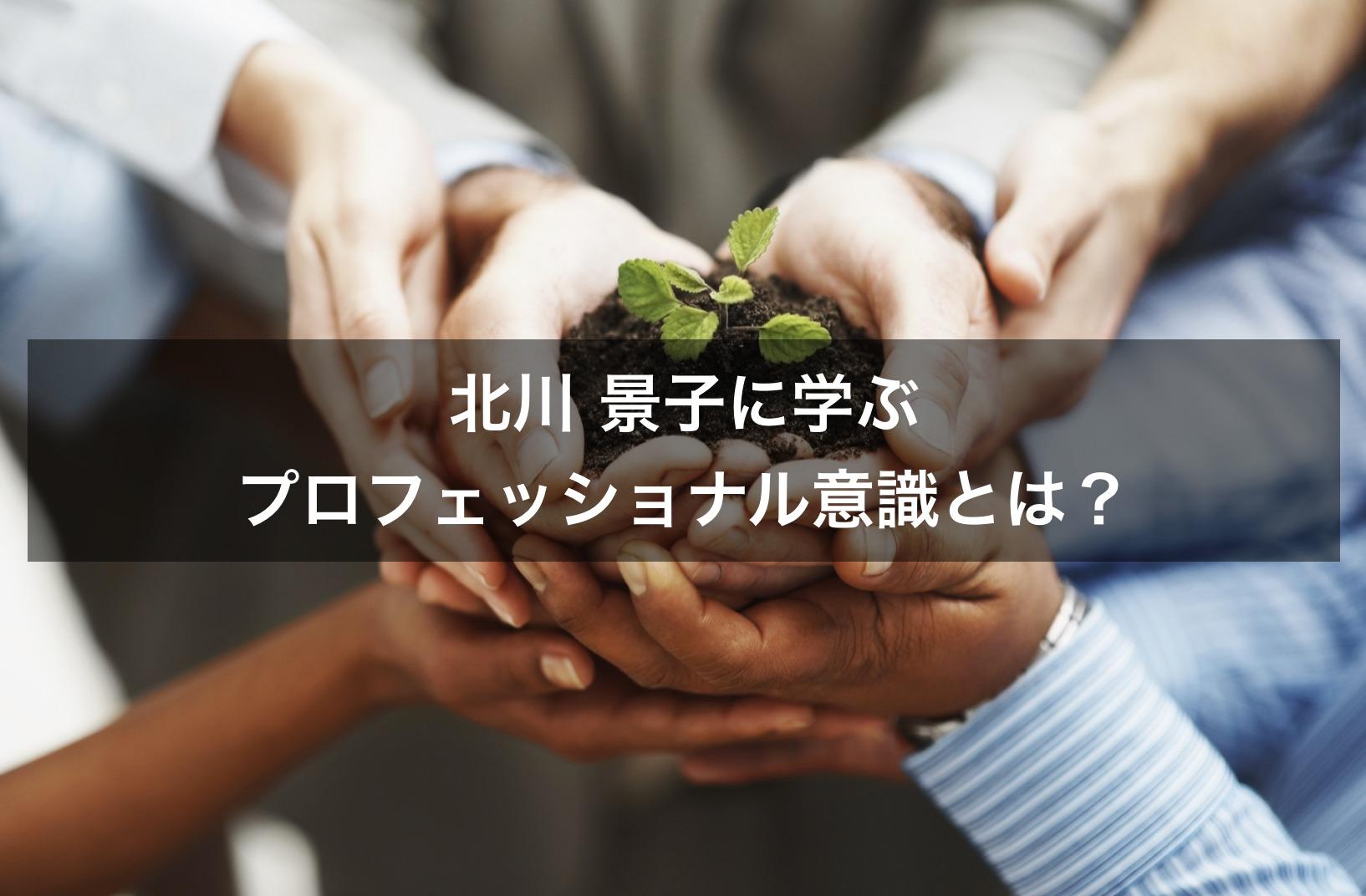 【北川景子に学ぶ】仕事へのプロフェッショナル意識(責任と覚悟)とは